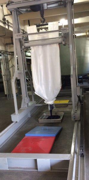 Equipamentos para fábrica de tintas