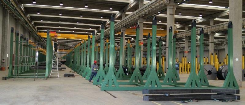 Montagem mecânica industrial