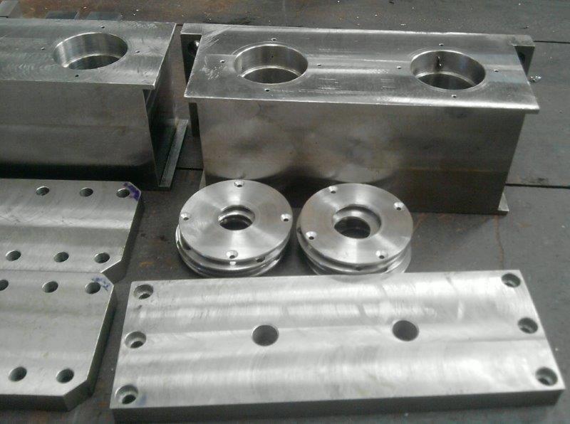 Usinagem de peças