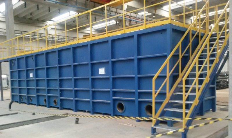 Fabricantes de tanques em aço carbono