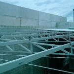 Estrutura metálica telhado